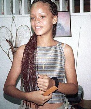 Rihanna adolescente