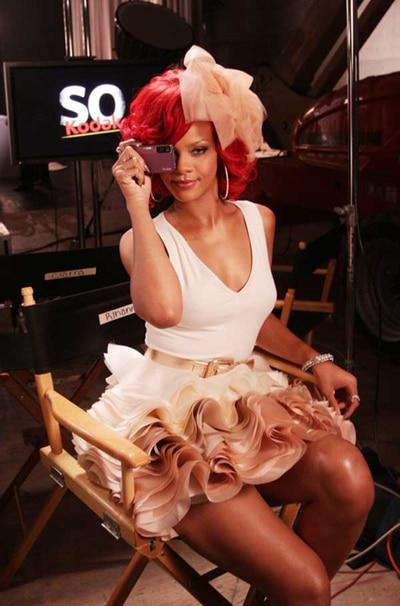 """Rihanna pour la publicité """"So Kodak"""""""