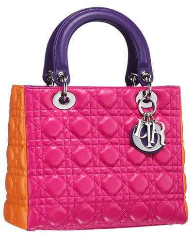 Le sac Lady Dior prend ses couleurs de printemps