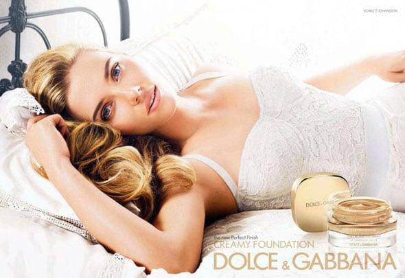 Scarlett Johansson Creamy Foundation Dolce & Gabbana