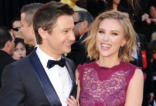 Jeremy Renner couple