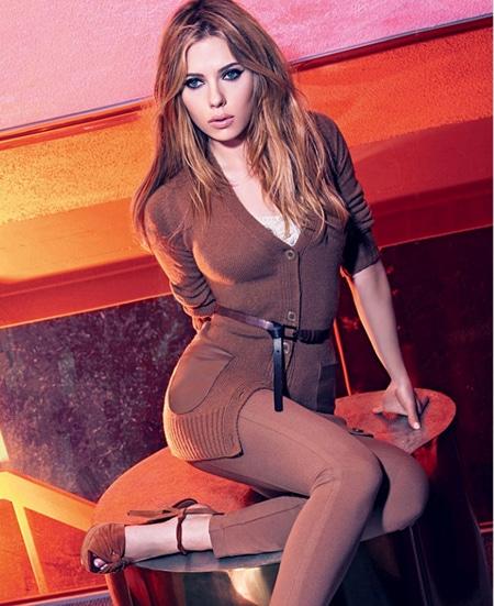 Scarlett Johansson Mango automne hiver 2010