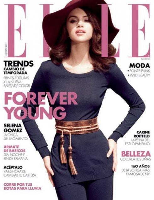 Selena Gomez Elle Mexico