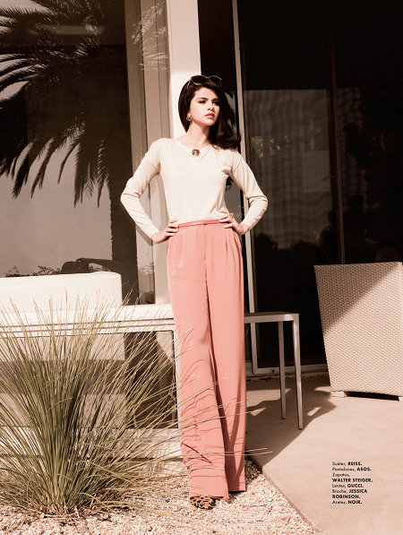 Selena Gomez Elle Mexique