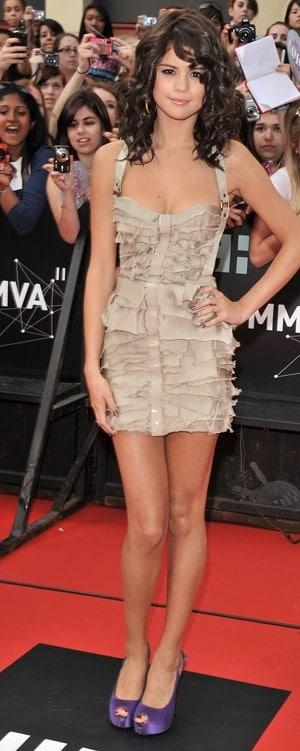 Selena Gomez MuchMusic Video Awards 2011