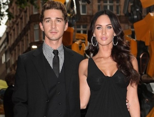 Shia Labeouf avoue avoir eu une relation avec Megan Fox !