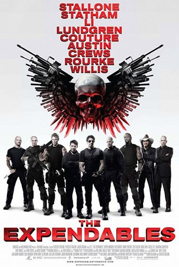 """The expendables"" disponible en DVD et blu-ray"