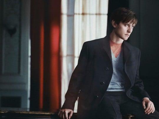 Tobey Maguire pour la campagne publicitaire Prada automne 2011
