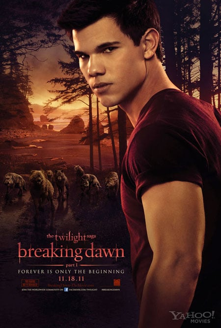 Twilight Breaking Dawn poster Jacob
