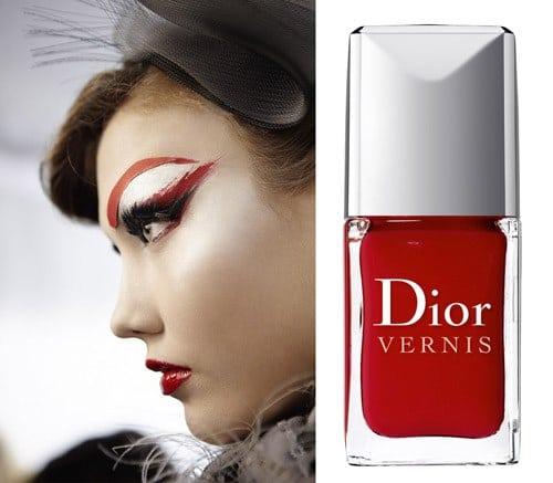 Vernis Dior les rouges Gruau