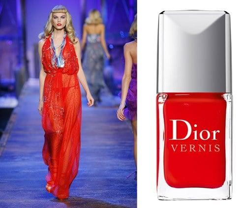 Vernis Dior les rouges Trafalgar