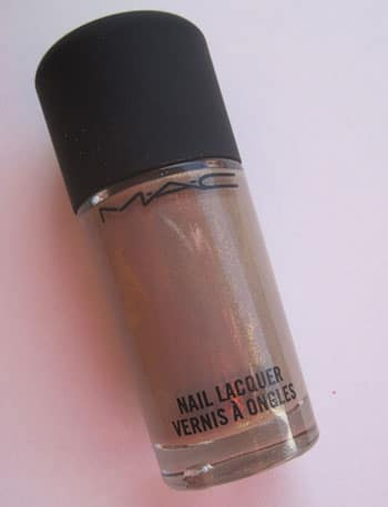 "Vernis ""Earthly harmony"" Mac swatch, test, photos"