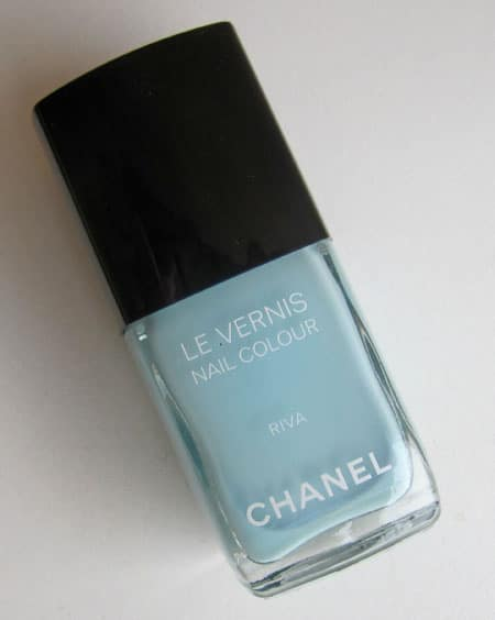 "Vernis ""Riva"" Chanel swatch, test, photos"
