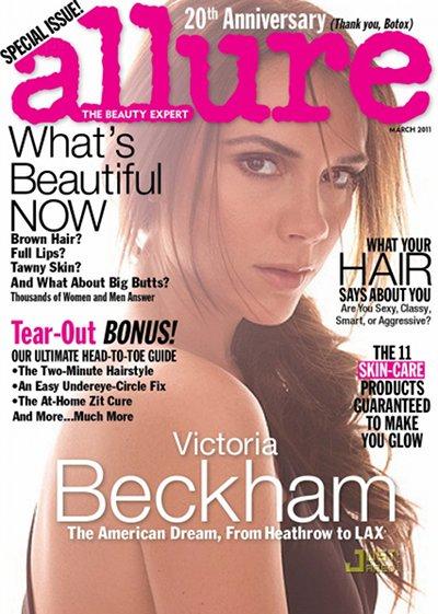 Victoria Beckham Allure mars 2011