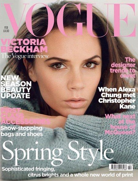 Victoria Beckham Vogue Uk