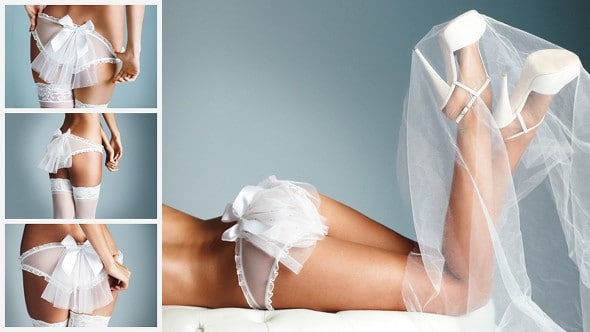 Victoria's secret lingerie de mariage