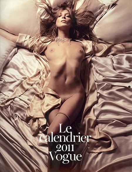Vogue Paris Calendrier 2011 Daria Werbowy