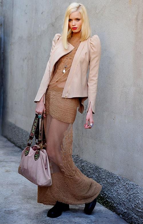 La maxi robe, future tendance printemps été 2011 !