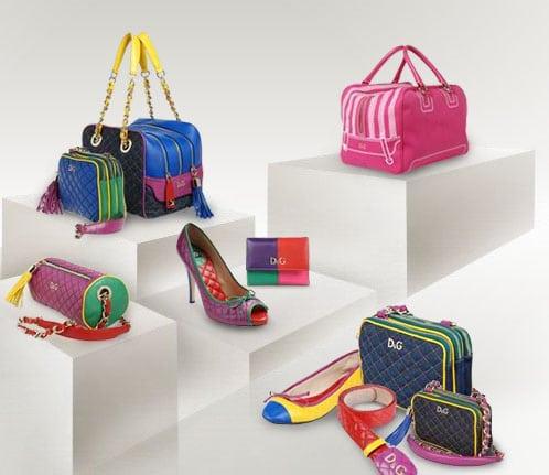 Des accessoires très colorés pour Dolce & Gabbana !