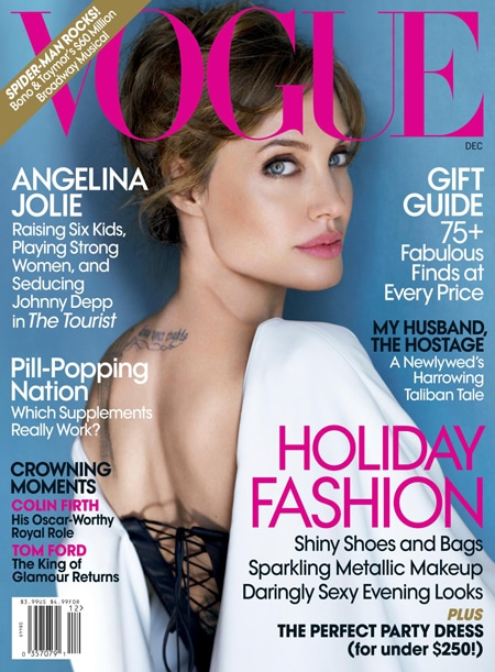 angelina jolie vogue decembre 2010
