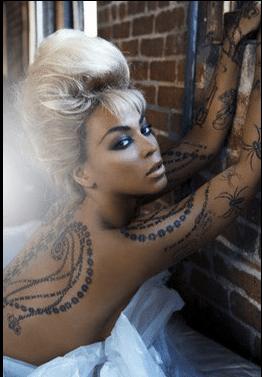 beyonce tatoo