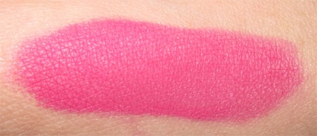 blush HD fushia make up for ever swatch