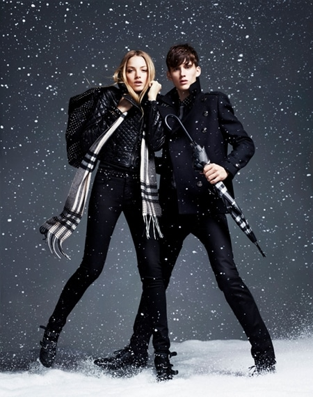 Burberry campagne publicitaire automne/hiver 2010