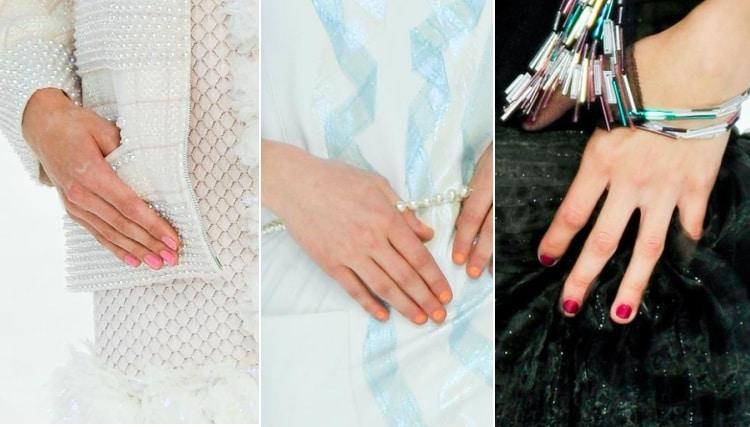 Vernis Chanel printemps 2012 : Le rendu appliqué sur les ongles