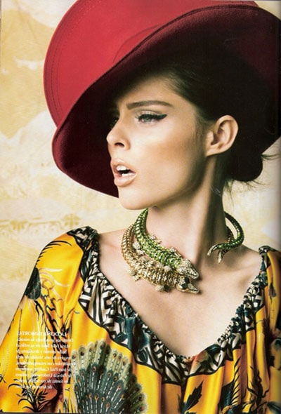 coco rocha vogue mexique