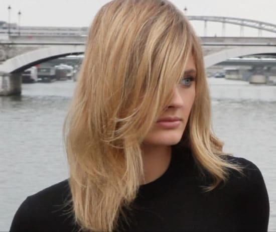 Constance Jablonski maquillée par Tom Pecheux