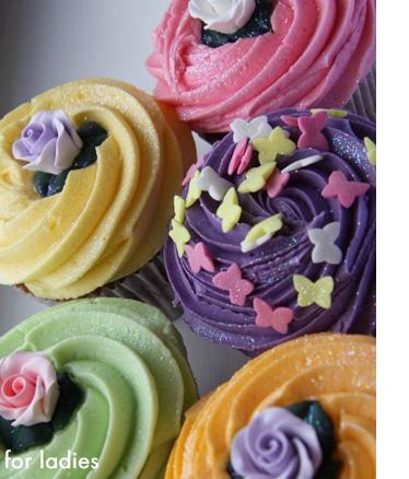 Les merveilleux cupcakes de Lola