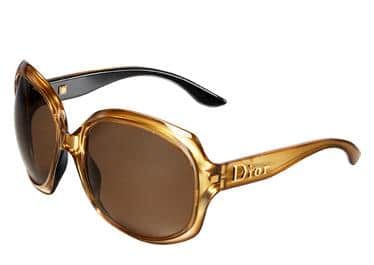 dior glossy gold lunettes soleil