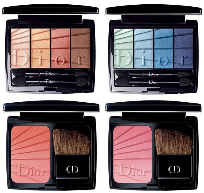 dior maquillage printemps ete 2017 colour gradation fards a paupieres