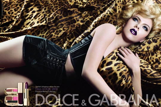 "Collection ""Evocative beauty"" Dolce & Gabbana automne 2010"