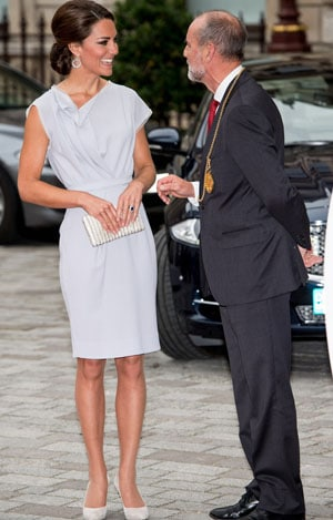 Kate Middleton princesse moderne et ravissante lors de la Creative Industires Reception