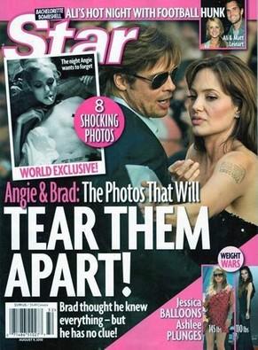 Angelina Jolie : La une qui cré le scandale