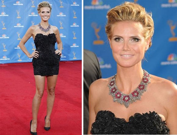 heidi klum emmy awards 2010