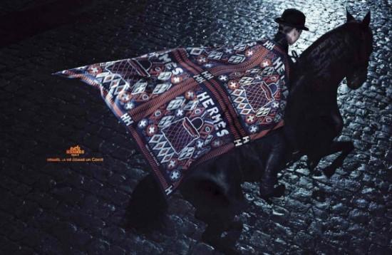Campagne publicitaire Hermès automne/hiver 2010 2011