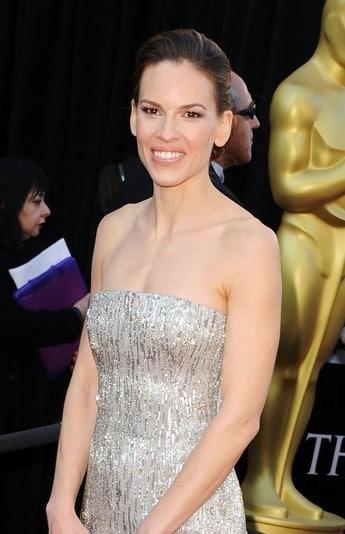 Hilary Swank aux Oscars 2011