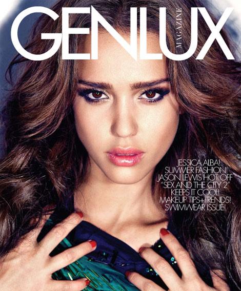 Jessica Alba pour Genlux magazine