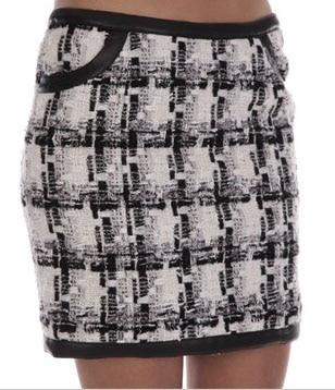Coup de coeur : La jupe courte à carreaux de Morgan