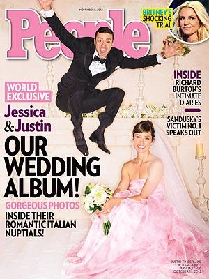 Découvrez la première photo du mariage de Justin Timberlake et Jessica Biel