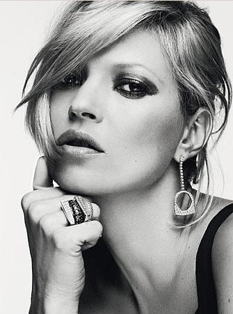 Kate Moss pour les bijoux Fred 2010