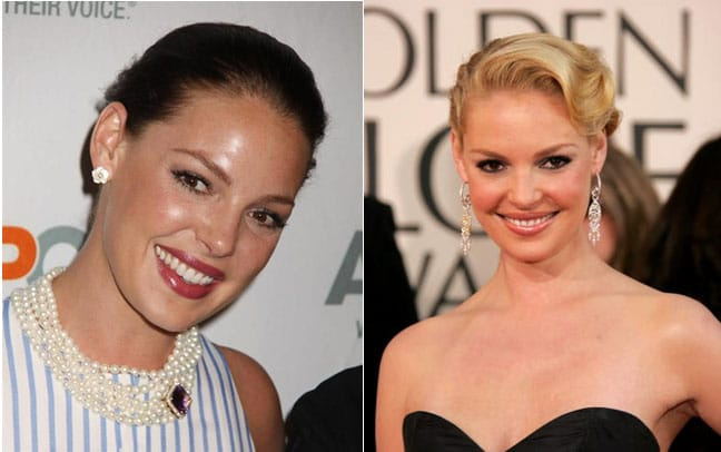 Katerine Heigl, blonde ou brune ?
