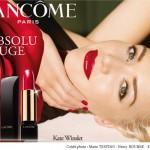 Kate Winslet pour l'Absolu rouge Lancôme