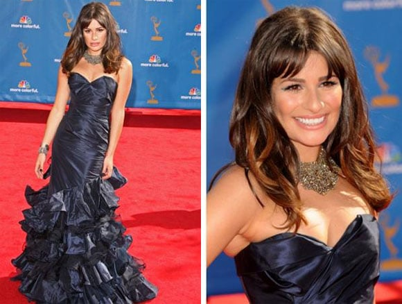 Lea Michele aux Emmy Awards 2010