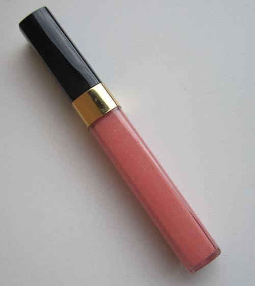 "Swatch, test, photos Lèvres scintillantes ""Bikini Peach"" Chanel"