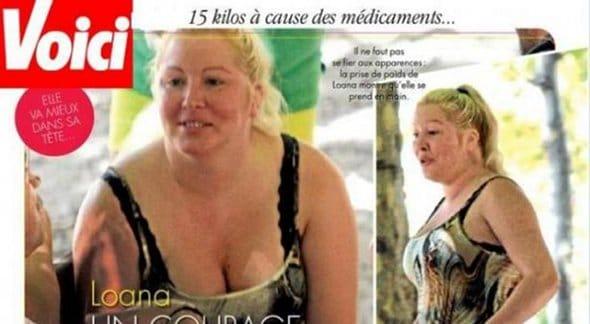 Loana méconnaissable avec 15 kilos en plus !