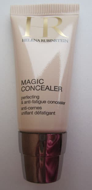 "Magic concealer Helena Rubinstein ""02 médium"", test, swatch, photos"