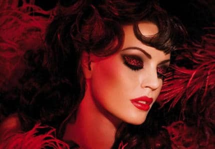 Collection moulin rouge make up for ever automne 2010 - Maquillage halloween diablesse femme ...